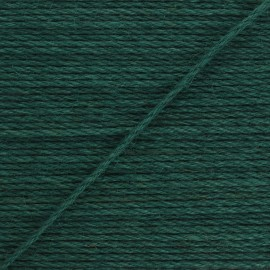 Corde de jute Lata 4 mm - vert sapin x 1m
