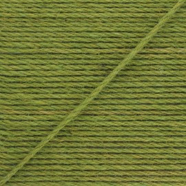 Corde de jute Lata 4 mm - vert kaki x 1m