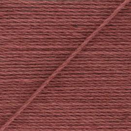 4mm jute cord - red brick Lata x 1m