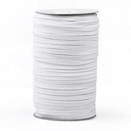6,5 mm PRYM facemask elastic - White