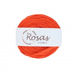 Trapilho quilted yarn - orange Baila