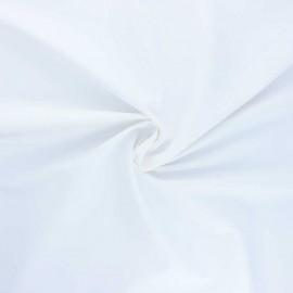 Tissu enduit spécial ciré Ula - blanc x 10cm