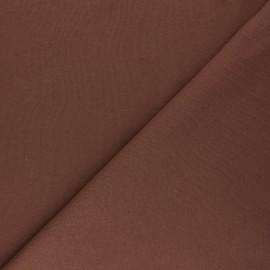 Mind the Maker Organic sweatshirt fabric - brown Basic x 10 cm