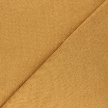 Mind the Maker Organic sweatshirt fabric - mustard yellow Basic x 10 cm