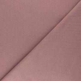 Mind the Maker Organic sweatshirt fabric - old pink Basic x 10 cm