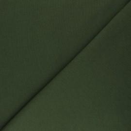 Mind the Maker Organic sweatshirt fabric - khaki green Basic x 10 cm