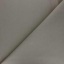 Tissu percale coton uni Care - taupe x 10cm