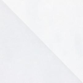 Entoilage renfort cantonnière épais - blanc x 10cm