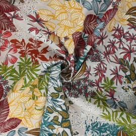 Tissu viscose Nolwenn - grège x 10cm