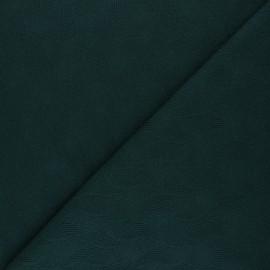 Tissu Mind the Maker jersey jacquard Leaf - vert sapin x 10 cm