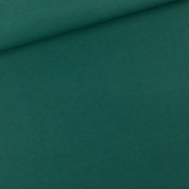 See you at six french terry fabric - Bistro green x 10 cm