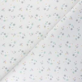 Cretonne cotton fabric - greige Sins x 10cm