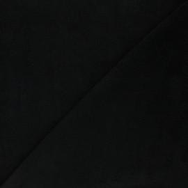 Micro bamboo towel fabric - black Soft x 10cm