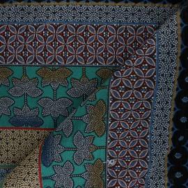 Jacquard fabric - green Dubaï x 42cm
