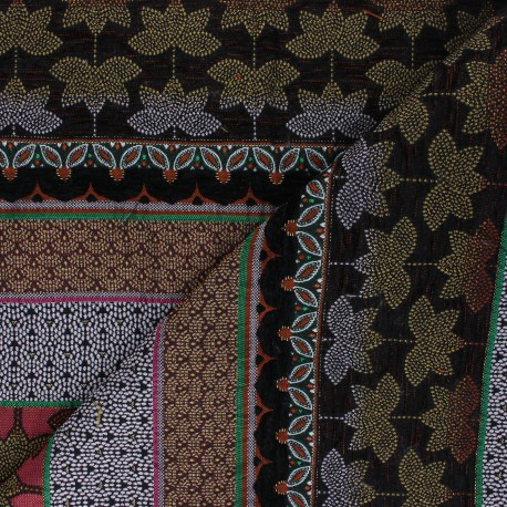 Jacquard fabric -  pink Dubaï x 42cm