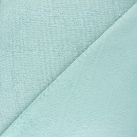 Tissu micro-éponge bambou Soft - céladon x 10cm