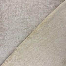 Tissu micro-éponge bambou Soft - sable x 10cm