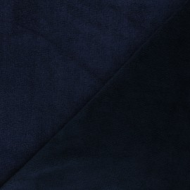 Micro bamboo towel fabric - night blue Soft x 10cm