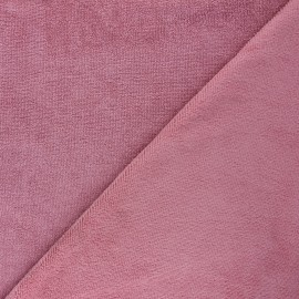 Micro bamboo towel fabric - pink Soft x 10cm
