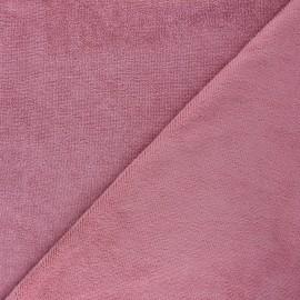 Tissu micro-éponge bambou Soft - rose x 10cm