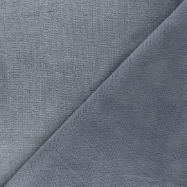 Micro bamboo towel fabric - grey Soft x 10cm