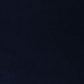 Tissu micro-éponge bambou Caresse - bleu marine x 10cm