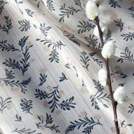 Atelier 27 Lurex muslin fabric - beige Marais x 50cm