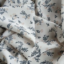 Atelier 27 Viscose Twill Fabric - beige Marais x 10cm
