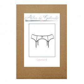 Atelier de Guillemette Sewing Pattern - Léonard Garter Belt
