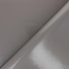 Tissu toile cirée uni - grès x 10cm