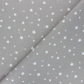 Tissu coton cretonne Scarlet - argile x 10cm
