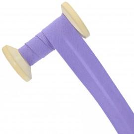 30 mm Poly Cotton Bias Binding Roll - Lavender