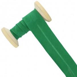 30 mm Poly Cotton Bias Binding Roll - Mint Green