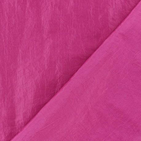 Tissu taffetas uni framboise x 10cm
