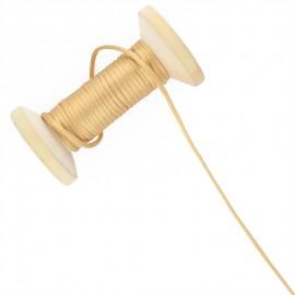 Queue de rat 2.5 mm - camel - bobine de 25 m