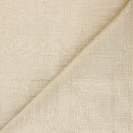 Wild Silk Fabric - golden x 10cm