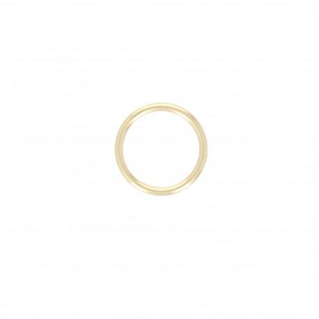 Anneau métal Crisco 26 mm - doré (lot de 4)