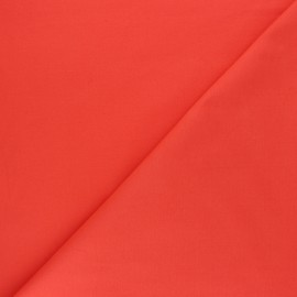 Tissu Oeko-tex Popeline corail x10cm