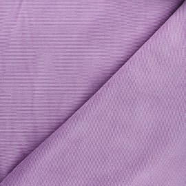 Milleraies velvet jersey fabric - lilac x 10cm