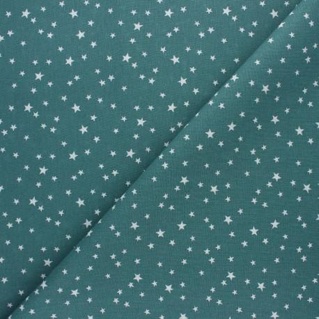 Tissu coton cretonne Atria - eucalyptus x 10cm