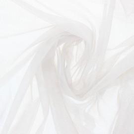 Soft tulle fabric - pearl grey Maglia x 10cm
