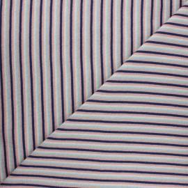 Jersey tubulaire Stripes - rose pâle x 10cm
