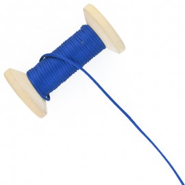 Queue de rat 2.5 mm - bleu - bobine de 25 m