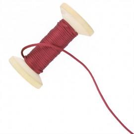 Queue de rat 2.5 mm - rouge - bobine de 25 m