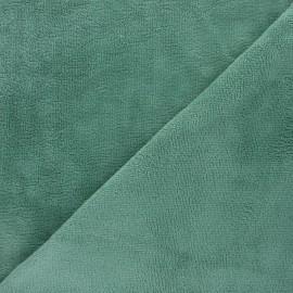 Tissu micro-éponge bambou Soft - bleu x 10cm