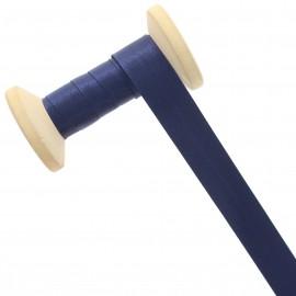 20 mm Satin Bias Binding Roll - Navy Blue