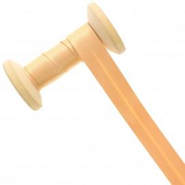 20 mm Satin Bias Binding Roll - Nude