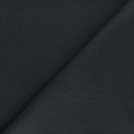 Tissu ramie uni - gris foncé x 10cm