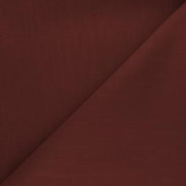Tissu ramie uni - terracotta x 10cm
