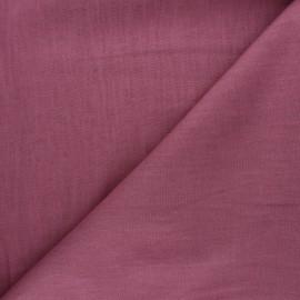 Tissu ramie uni - bois de rose x 10cm
